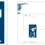 Business Card 2 x 3.5in, Letterhead 8.5 x 11in, Envelope 9.5 x 4.125in | Illustrator & InDesign
